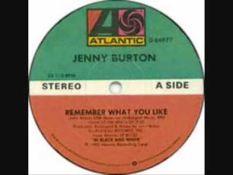 I Remember What You Like  Jenny Burton
