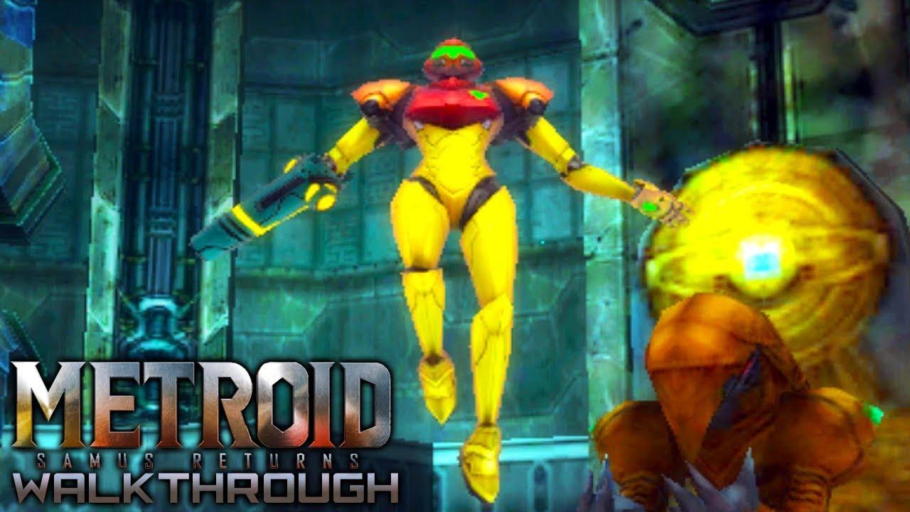 metroid samus returns 3ds walkthrough part 6 the varia suit youtube