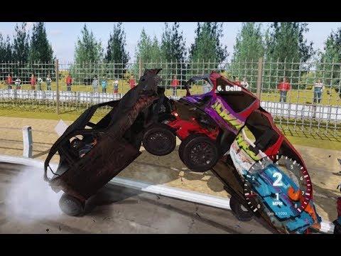 Wreckfest banger crashes 9/12/2017