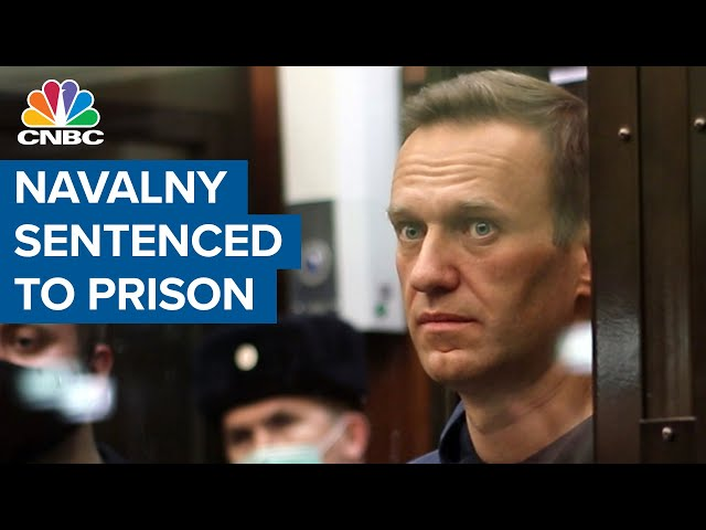 Russian court orders Alexei Navalny to prison, igniting protests, global condemnation