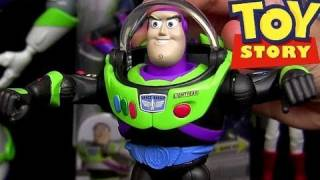 Buzz Lightyear Space Mission to Infinity and Beyond Toy Story toons toy review Disney Pixar