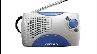 Обзор радиоприемника Supra st 113