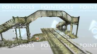 Small Railway Footbridge Captured Using Leica Scanstation C10 (orbit)