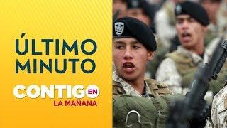 URGENTE: Convocan a reserva del ejército a cuarteles - Contigo en La Mañana