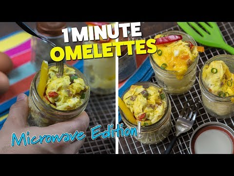 Scrambled Egg Breakfast inside a Jar