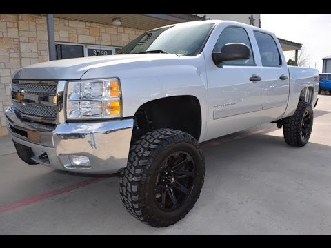 2013 Chevrolet Silverado 1500 LT Crew Cab Lifted 4WD - YouTube
