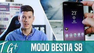 Activa el MODO BESTIA del Galaxy S8