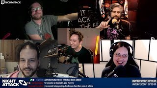 Night Attack #307: You Gave My Fucking Emmy Away?!? (w/ J-F Dubeau and Amy Frost)