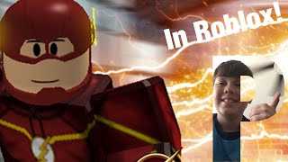 Let's Play Cw Flash In Roblox (Parkerntv)