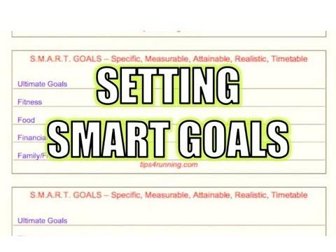 Running Tips: Set Your Goals
