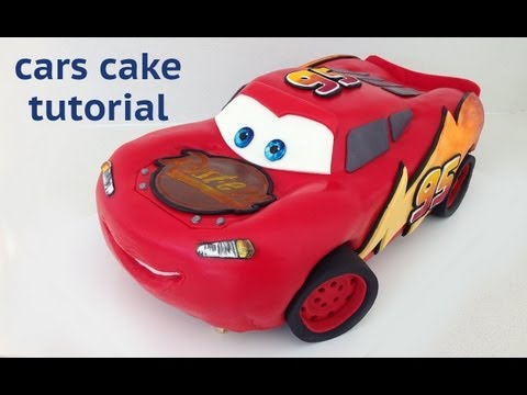 Cars Cake Tutorial HOW TO COOK THAT Disney Lightning McQueen