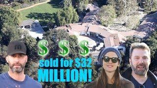 Jennifer Garner And Ben Affleck Sell Palisades Mansion To Adam Levine For $32 Million!