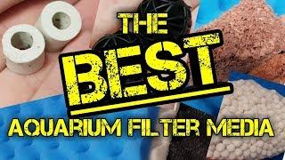 Filter Media for Aquariums - BEST to REDUCE AMMONIA+NITRITES 2018 (cheap&easy)