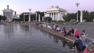 Монетка на удачу! Золотые статуи ВДНХ, продолжаем путешествие, Москва (август 2018)!