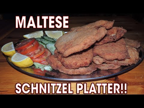 UNDEFEATED SCHNITZEL CHALLENGE ON MALTA!!