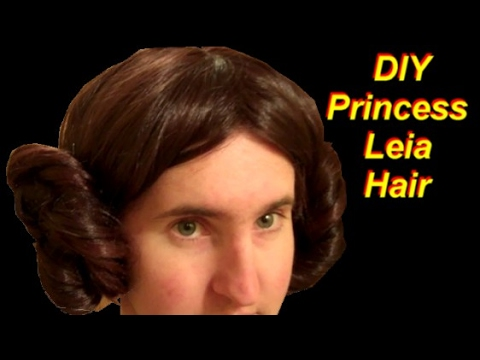 DIY Princess Leia Costume Part 1: The Hair