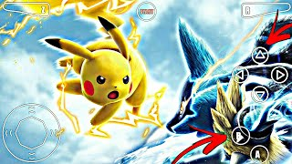 How To Download And Install Pokemon High Graphics Game On Android Proof With Gameplay