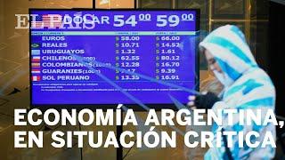 El bloqueo político deja a Argentina en una situación crítica