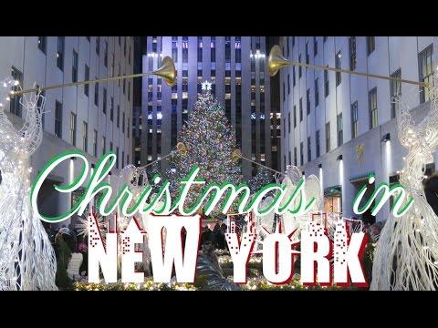 Christmas In New York ♡ Travel Diary