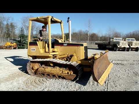 1982 Caterpillar D3B Dozer C&C Equipment