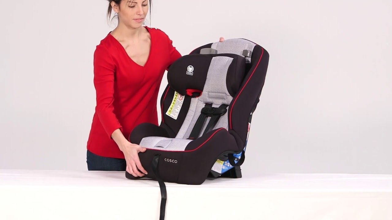 Cosco Easy Elite 3 In 1 Convertible Car Seat Forward Facing With Vehicle Belt