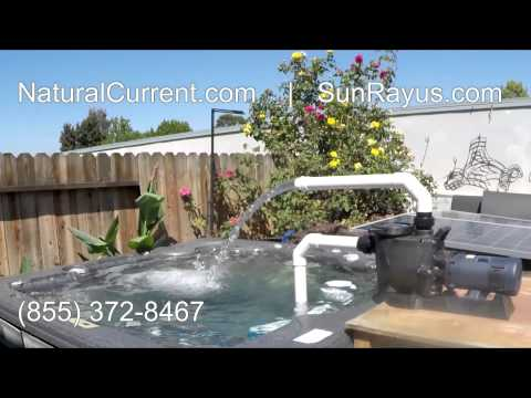 Solar Powered Pool Pump System $1199 DIY Cut your energy costs