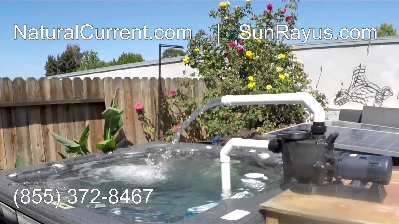 Solar Powered Pool Pump System 1199 Diy Cut Your Energy Costs Youtube