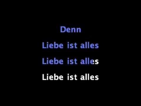 Liebe ist alles - Rosenstolz - Karaoke Instrumental