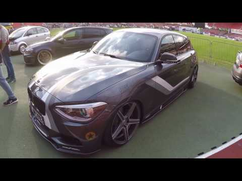 BMW 1 SERIES F20 ! WRAP ! MBDESIGN WHEELS ! WALKAROUND ! GREY COLOUR ! M PERFORMANCE PARTS !
