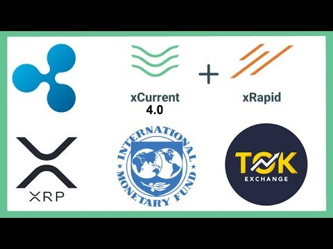 "Ripple xCurrent 4.0 xRapid Integration - Ripple CEO ""Banks Will Hold Digital Assets"" - TOK XRP"