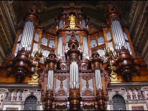 XAVER VARNUS PLAYS IN THE BERLINER DOM: CONCERT ON THE SAUER-ORGAN
