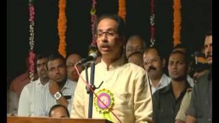 Shivsena president Uddhavji Thackeray Distributes Tabs to Dinanath Mangeshkar Natyagruha Vile parle