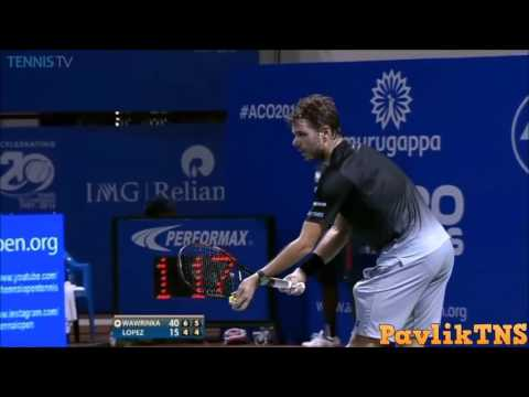 Stan Wawrinka vs Guillermo Garcia Lopez Highlights Chennai OPEN 2016