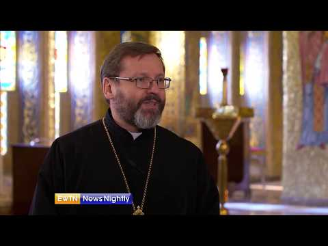 The Pope's Visit to a Ukranian Greek Church in Rome - ENN 2018-01-25