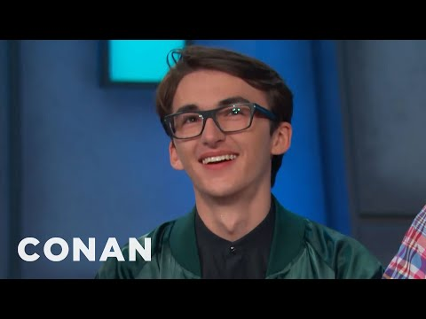 It's Nice To See Isaac Hempstead Wright Walking Around   CONAN on TBS