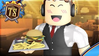 IS THE WAITER IN MY OWN RESTAURANT! -Ep 1-Restaurant Tycoon 2 | Danish Roblox