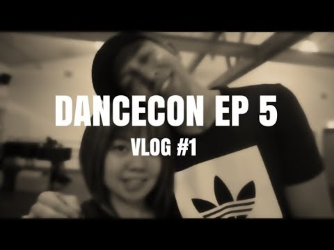 DANCECON EP. 5 | ALMOST MISSED MY FLIGHT | VLOG #1