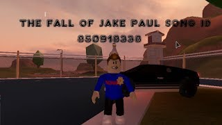 The Fall Of Jake Paul   ROBLOX SONG ID