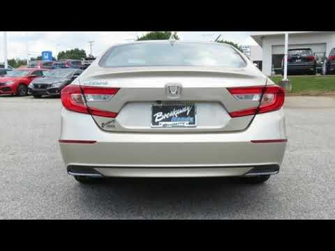 New 2019 Honda Accord Greenville SC Easley, SC #192272 - SOLD