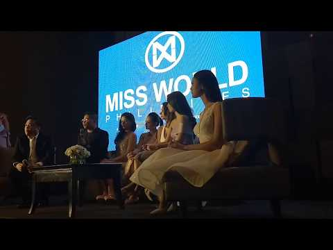 #MWP2017: Miss World Philippines Press Conference