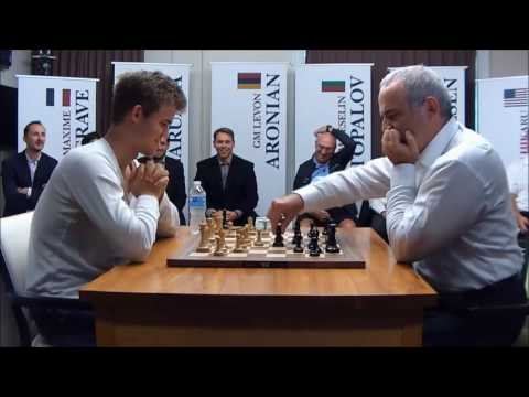 Chess-Magnus Carlsen vs Garry Kasparov, leader of team!
