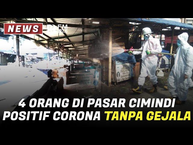 4 Orang di Pasar Cimindi Positif Corona Tanpa Gejala, Begini Kondisi Pasar Sekarang