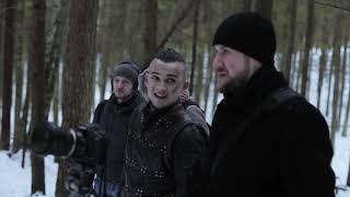 Съёмки фильма Викинги, за кадром