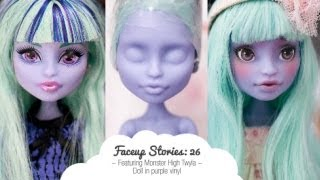 Faceup Stories: 26 Monster High Twyla