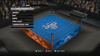 WWE 13: SGU Custom Arena Creation version 1.0