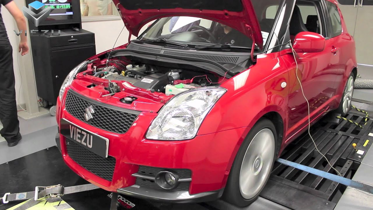 Suzuki Swift Tuning and Performance on the Dyno - YouTube