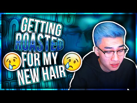Getting ROASTED For My NEW HAIR