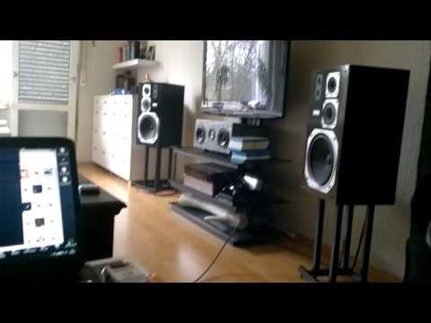 Nestor Torres. Rhythm Is Gonna Get You . Yamaha NS 366 Stereo