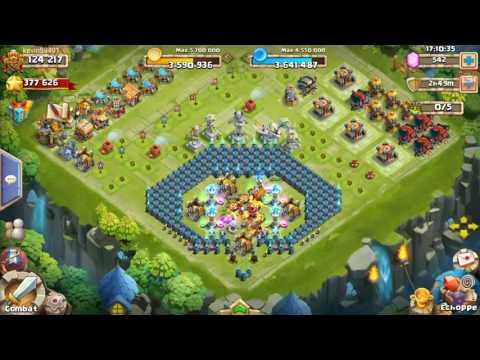 live clash de chateau