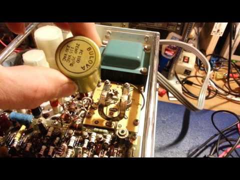 Public auction test equipment, tube amplifier bonanza day.